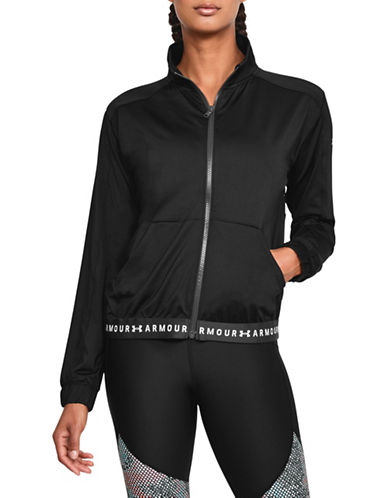 Under Armour HeatGear Armour Full Zip Jacket-BLACK-X-Small 89983244_BLACK_X-Small
