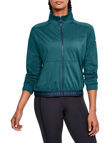 Under Armour HeatGear Armour Full Zip Jacket-TURQUOISE-X-Large 89983248_TURQUOISE_X-Large