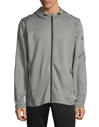 Under Armour MK-1 Terry Full Zip Hoodie-GREY-X-Large 89819808_GREY_X-Large