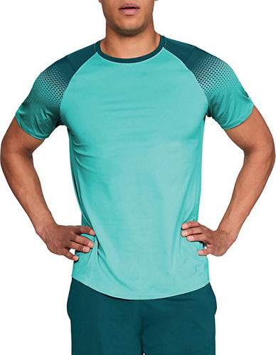 Under Armour Dash-Print Raglan-Sleeve T-Shirt-BLUE/TEAL-Medium 90090415_BLUE/TEAL_Medium