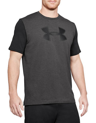 Under Armour Better Big Logo T-Shirt-GREY-Large 90020928_GREY_Large