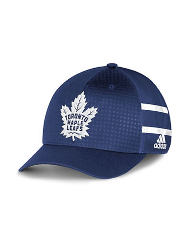 Adidas Toronto Maple Leafs Official Draft Cap-BLUE-One Size
