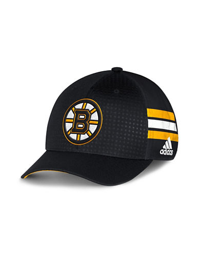 Adidas Boston Bruins Official Draft Cap-BLACK-One Size