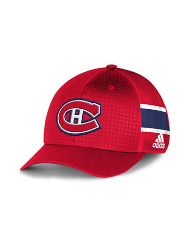 Adidas Montreal Canadiens Official Draft Cap-RED-One Size