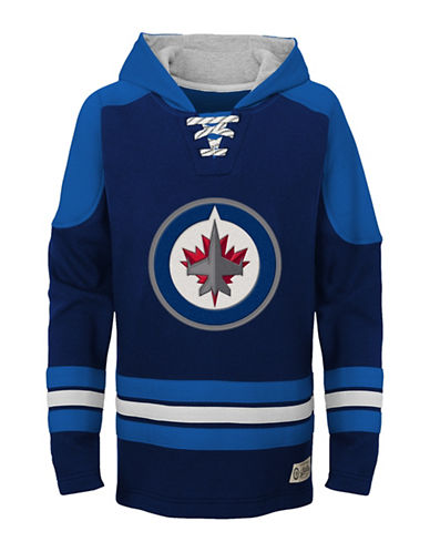 Outerstuff Winnipeg Jets Legendary Hoodie-BLUE-Small 89951047_BLUE_Small
