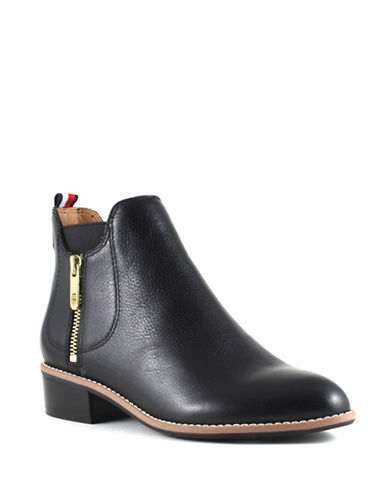 Tommy Hilfiger Toscana Booties-BLACK-7.5