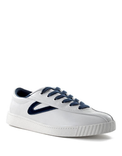Tretorn Nylite Leather Sneaker-WHITE-5