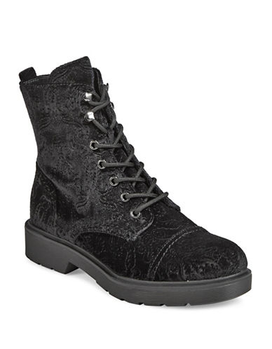 Indigo Rd Doc Style Block Heel Booties-BLACK-9
