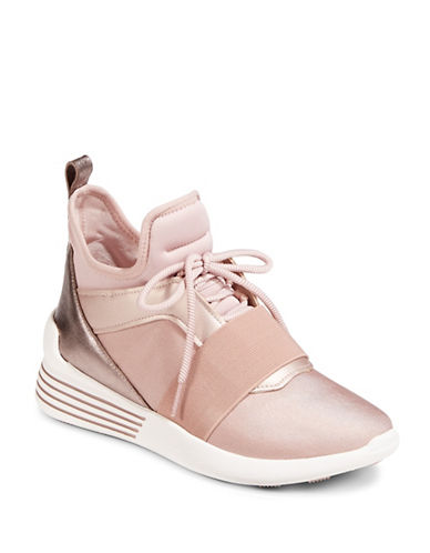 Kendall + Kylie Braydin 3 High-Top Sneakers-PINK-7.5