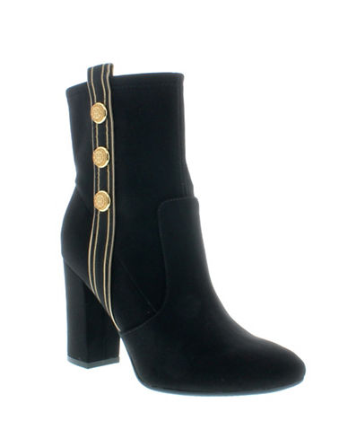 Tommy Hilfiger Drexel Booties-BLACK-7.5