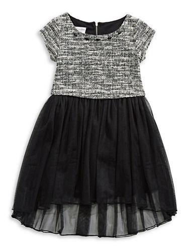 Iris & Ivy Popover Waist Dress-BLACK-7