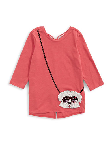 Jessica Simpson Libra Purse Tee-RED-X-Large