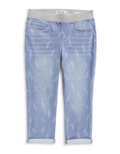 Jessica Simpson Gracie Cropped Jeans-BLUE-7