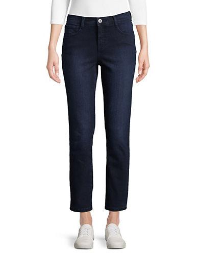 Style & Co. Petite Jean ajusté à plastron amincissant 89816877