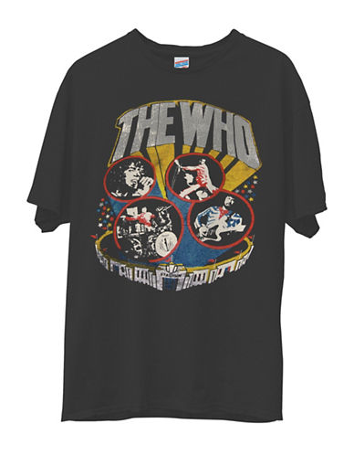 Junk Food The Who Original Tee-BLACK-Large