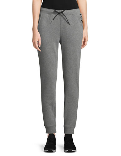 Ivanka Trump Side Tie Sweatpants-GREY-Small 89597527_GREY_Small