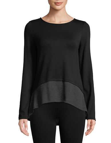 Ivanka Trump Thermal Layer Top-BLACK-Small