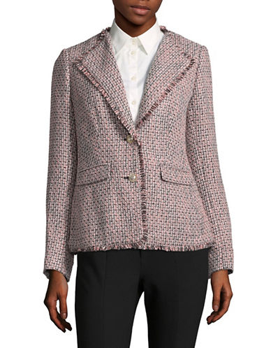 Miscellaneous Mix Tweed Jacket-PINK-8