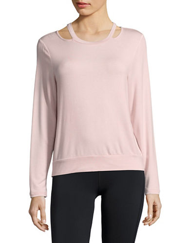 Ivanka Trump Mushy Sweatshirt-PINK-Medium