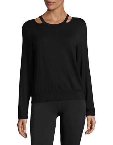 Ivanka Trump Mushy Sweatshirt-BLACK-Medium