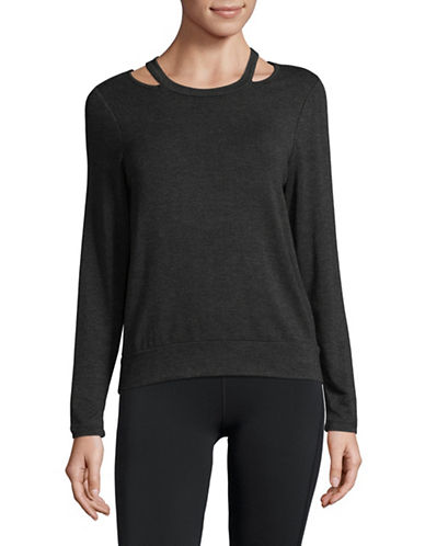 Ivanka Trump Mushy Sweatshirt-GREY-Small