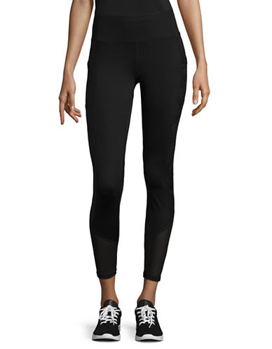 Ivanka Trump Stretch Leggings-BLACK-X-Small