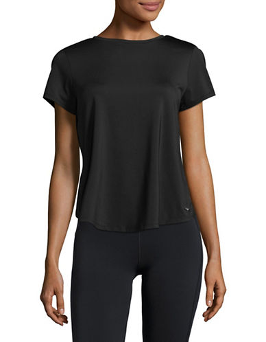Ivanka Trump Open Back T-Shirt-BLACK-Large