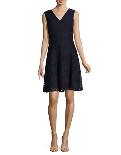 Tommy Hilfiger Exclusive Lace Dress-BLUE-4