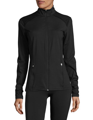 Ivanka Trump Slim-Fit Performance Jacket-BLACK-X-Large