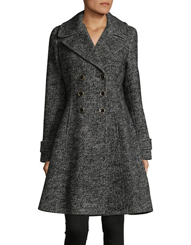 Ivanka Trump Houndstooth Coat-BLACK/WHITE-8