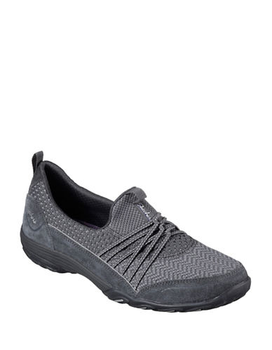 Skechers Womens Empress Low-Top Sneakers-CHARCOAL-6