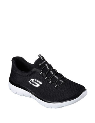 Skechers Summits Sneakers-BLACK-8.5