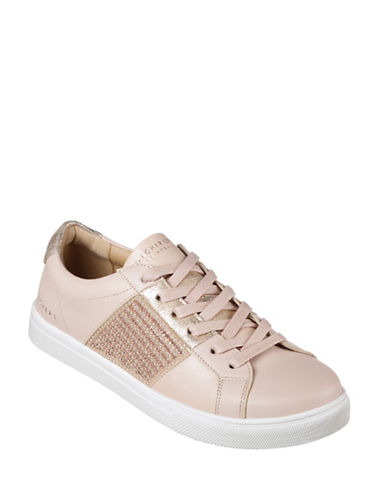 Skechers Womens Moda Bling Bandit Sneakers-PINK-7