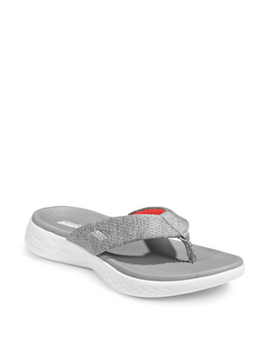 Skechers On The Go 600 Sandals-GREY-6