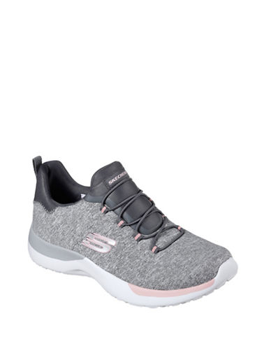 Skechers Dynamight Break-Through Training Sneakers-GREY-6.5