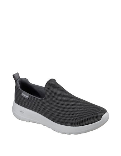 Skechers Men's Go Walk Max Centric Sneakers-CHARCOAL-12 90066092_CHARCOAL_12
