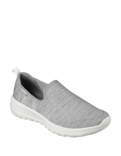 Skechers Womens Go Walk Joy Sneakers-GREY-9.5