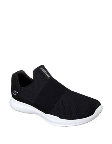 Skechers Men's Go Run Mojo Mania Sneakers-BLACK-9 89945479_BLACK_9