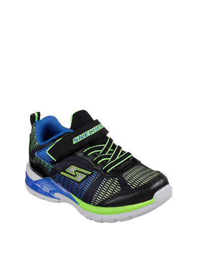 Skechers Erupters II Lava Waves Low Top Sneakers-BLACK-5
