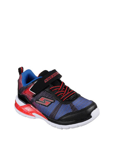 Skechers Erupters II Lava Waves Low Top Sneakers-BLACK/BLUE-2