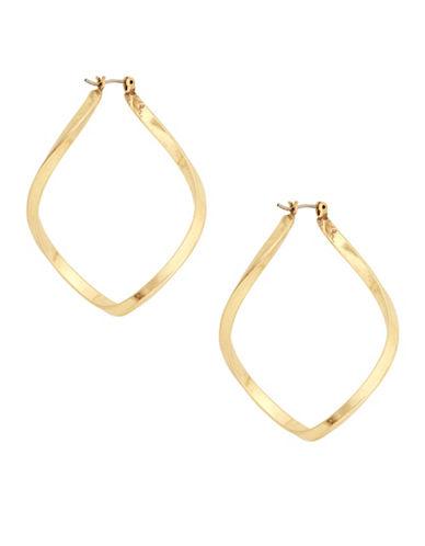 Lucky Brand Orbiting Hoop Earrings-GOLD-One Size
