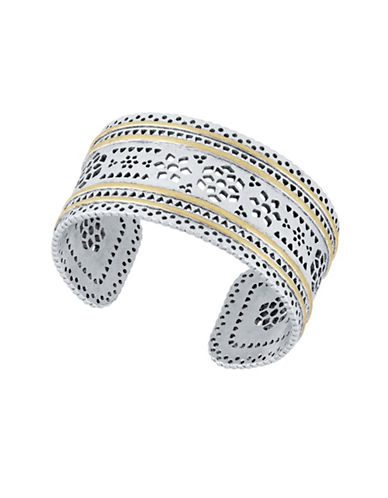 Lucky Brand Cuff Bracelet-TWO TONE-One Size