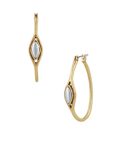 Lucky Brand Hoop Earrings-TWO TONE-One Size