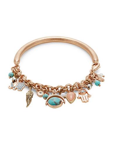 Lucky Brand Believe Charm Bracelet-ASSORTED-One Size