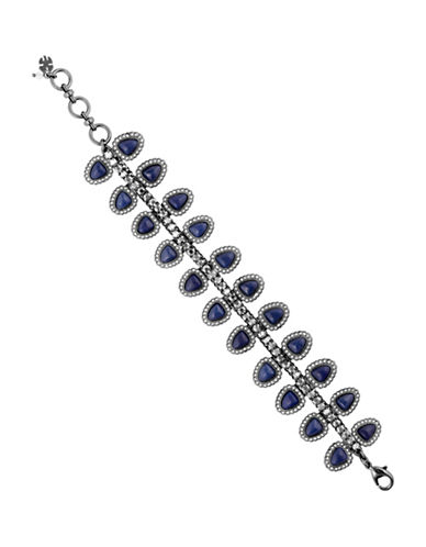 Lucky Brand Under the Influence Semi-Precious, Multi-Stone Bracelet-SILVER-One Size