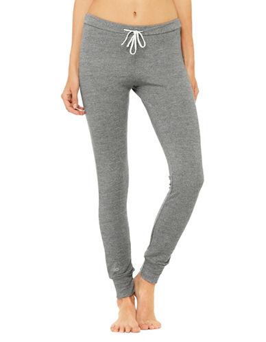 Alo Yoga Twiggy Drawstring Sweatpants-GREY-Large 89984527_GREY_Large