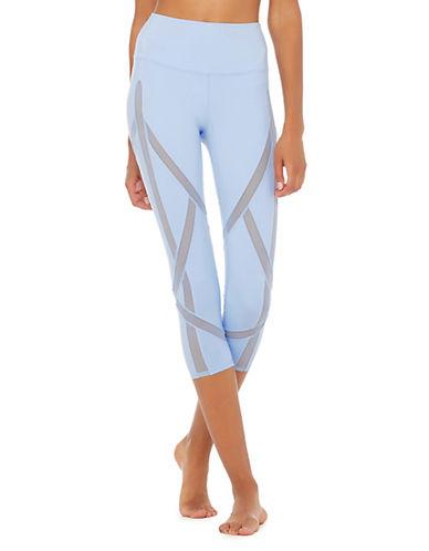 Alo Yoga High Waist Capri Leggings-BLUE-Medium 90025267_BLUE_Medium