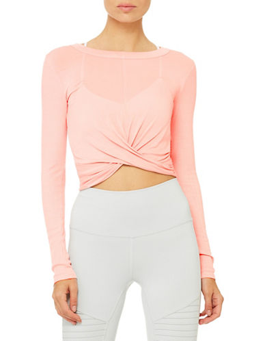 Alo Yoga Twisted Cover Crop Top 89984522