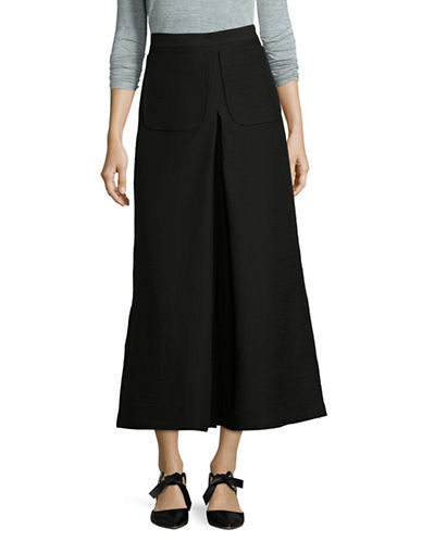 Rachel Comey Wide-Leg Cropped Pants-BLACK-6