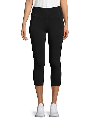 Calvin Klein Performance Cut-Out Cropped Jersey Leggings 90121125